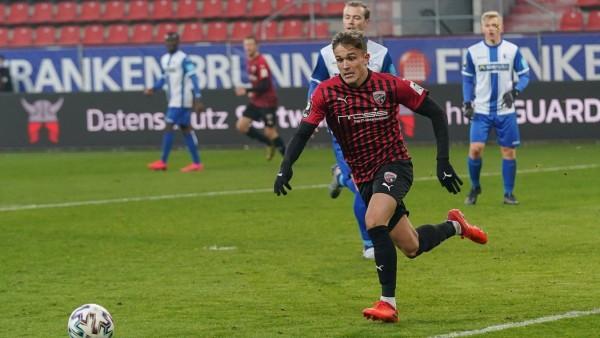 3. Liga - FC Ingolstadt 04 - 1. FC Magdeburg - Dennis Eckert Ayensa (7, FCI) 3. Liga - FC Ingolstadt 04 Saison 2020/2021; Fußball - FC Ingolstadt - Dennis Eckert Ayensa