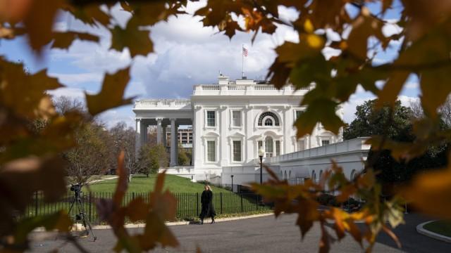 USA: Das Weiße Haus in Washington, D.C.