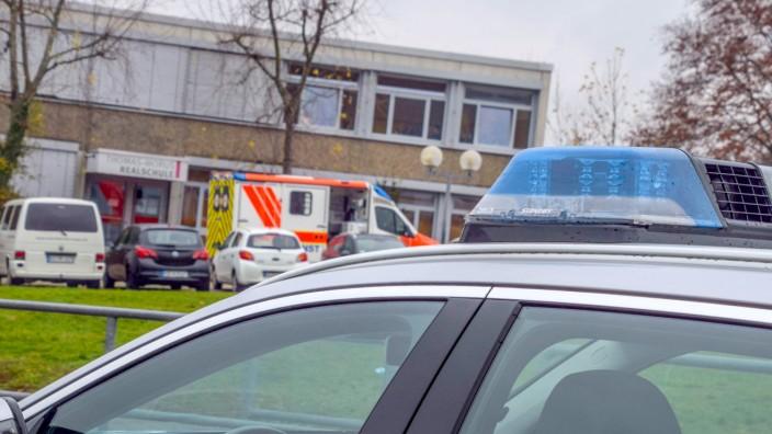Polizeieinsatz an Schule in Östringen