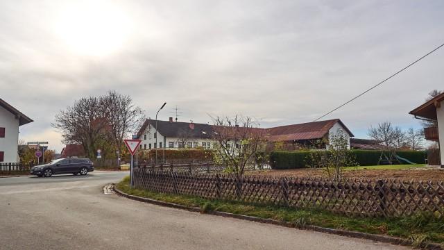 Baulücke Zorneding Abriss Bauernhaus