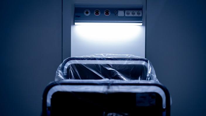 Corona-Bett in Krankenhaus