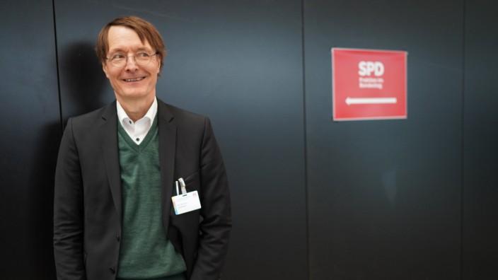 SPD GER, Berlin, 20191206, SPD Parteitag in Berlin, Prof. Dr. Karl Lauterbach *** SPD GER, Berlin, 20191206, SPD Party C