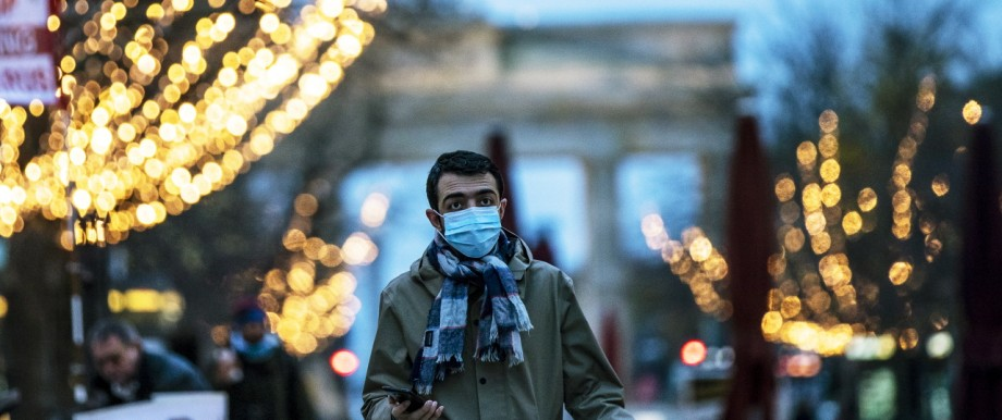 Berlin Prepares For Christmas Season During Pandemic Second Wave