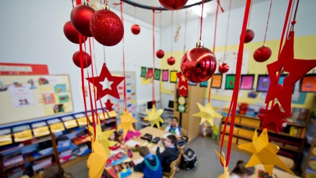 Weihnachtsferien in Bayern starten eher