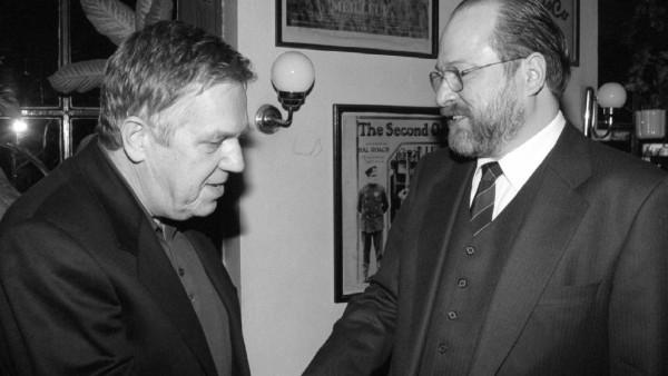 Robert Gernhardt und Jan-Philipp Reemtsma, 1997