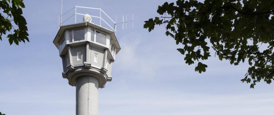 Ehemaliger Wachturm der DDR in Kühlungsborn