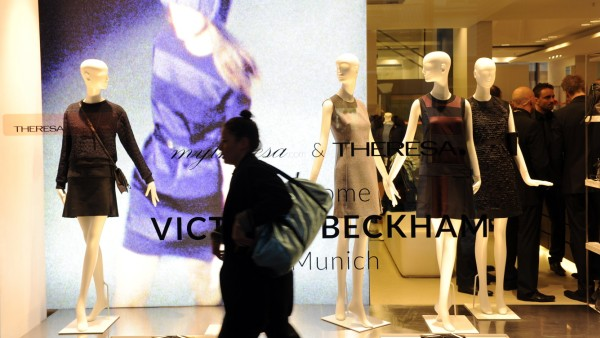 Victoria Beckham Presents Spring Summer Collection 2014 In Munich