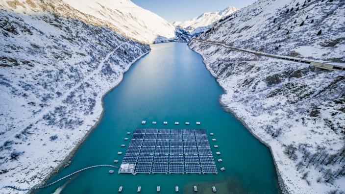 Romande Energie - PV-Anlage in der Schweiz