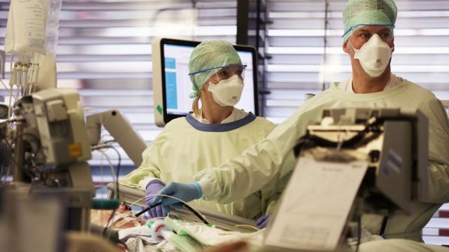 Coronavirus - Intensivstation der Uniklinik Aachen