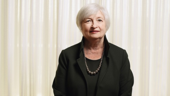 Chair of the Federal Reserve Janet Yellen - Washington, DC
