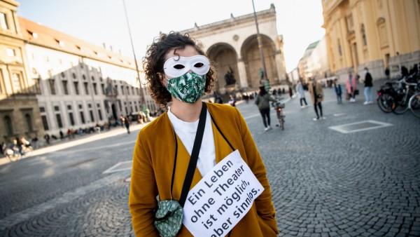 Coronavirus · Aktion für Theater in München