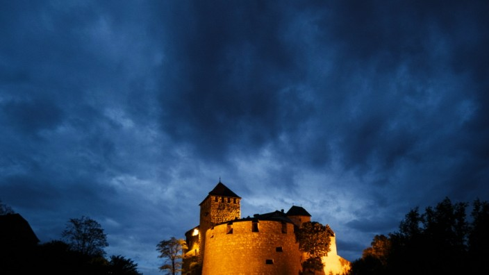 Banking And Economy In Liechtenstein's Capital; .