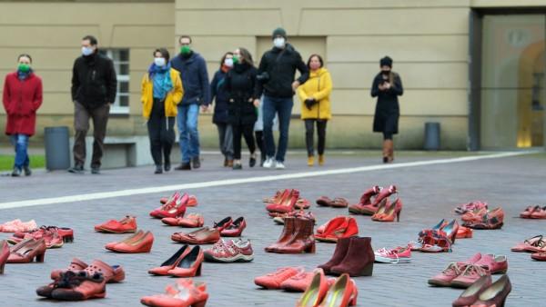 'Internationalen Tag gegen Gewalt an Frauen· in Potsdam