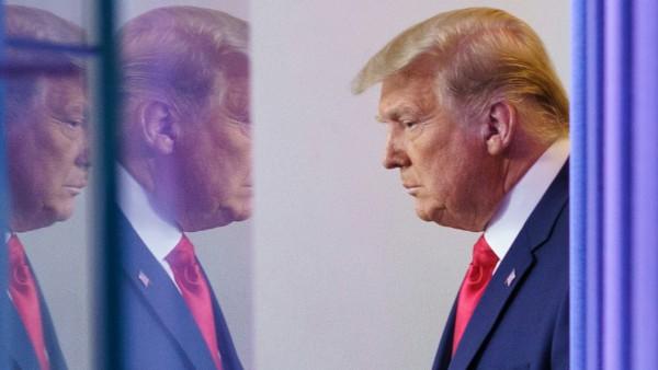 US-Präsident Donald Trump im November 2020 im Weißen Haus