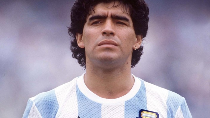 Diego Maradona (Arg).Argentina v Bulgaria. 02 June 1986 World Cup Finals 1986. MEXICO. PUBLICATIONxNOTxINxUKxBRA