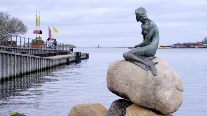 Statue der Kleinen Meerjungfrau - Dänemark