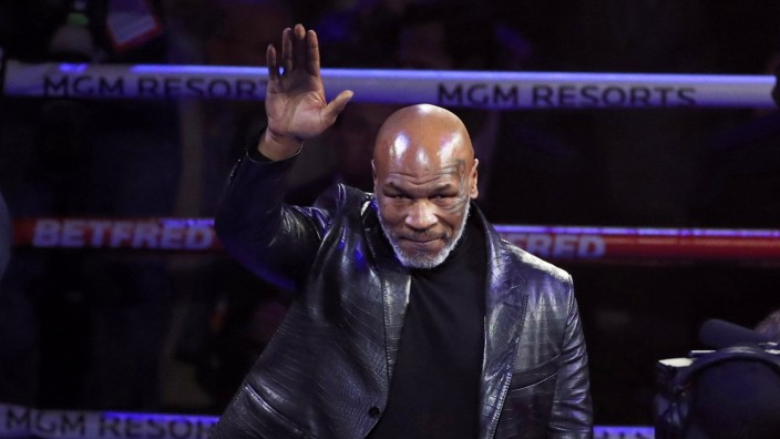 Ex-Boxweltmeister Mike Tyson 2020 in Las Vegas