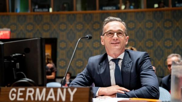 Außenminister Heiko Maas bei den Vereinten Nationen