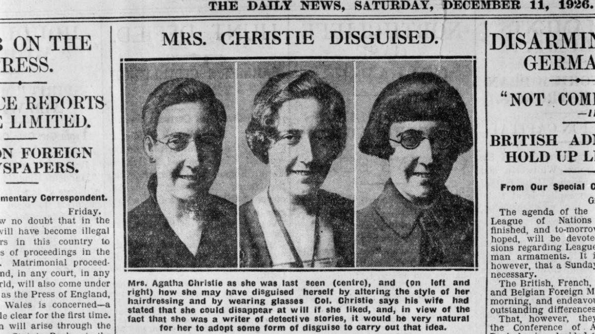 Wie Krimiautorin Agatha Christie plötzlich verschwand