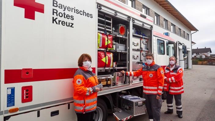 BRK Katastrophenschutz Pressegespräch