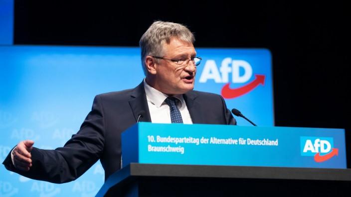 Deutschland, Braunschweig, 10. Bundesparteitag der AfD, JËÜrg Meuthen, 30.12.2019 *** Germany, Braunschweig, 10 Federal P