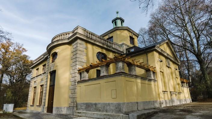 Ende der Sanierungsarbeiten des Maximilianswerks in München