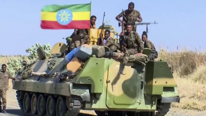 Konflikt in Äthiopien - Flüchtlinge im Sudan