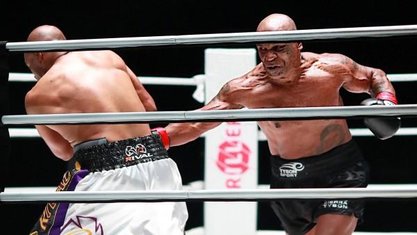 Boxing: Tyson vs Roy Jones Jr