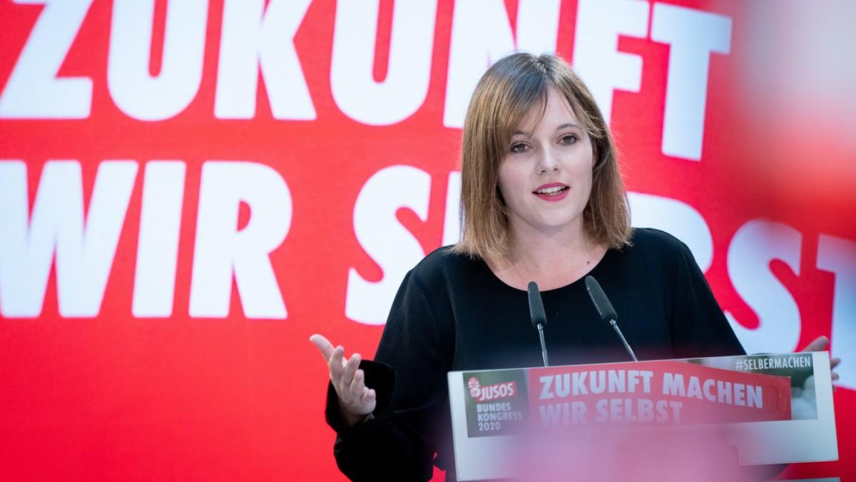 Künftige Juso-Chefin Rosenthal: Politik mit erhobenem Mittelfinger