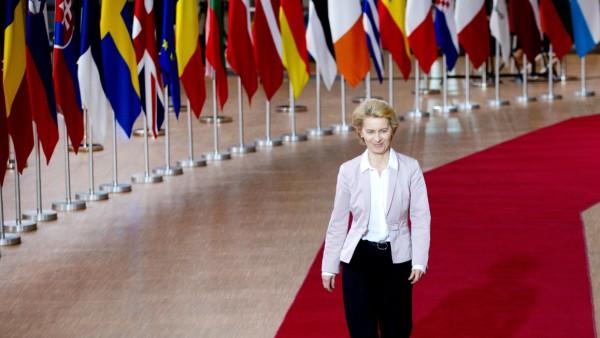 EU-Kommissionpräsidentin Ursula von der Leyen