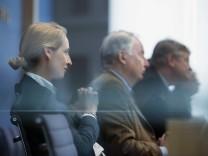 AfD-Politiker Jörg Meuthen, Alexander Gauland und Alice Weidel 2017 in Berlin