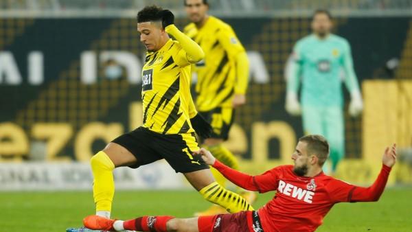 Borussia Dortmund: BVB-Stürmer Jadon Sancho gegen den 1. FC Köln