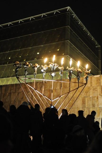 Jüdisches Lichterfest in München, 2010
