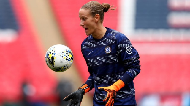 29th August 2020; Wembley Stadium, London, England; Community Shield Womens Final, Chelsea versus Manchester City; Ann-K