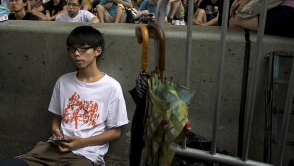 Wider Image: The Umbrella Movement - One Year On