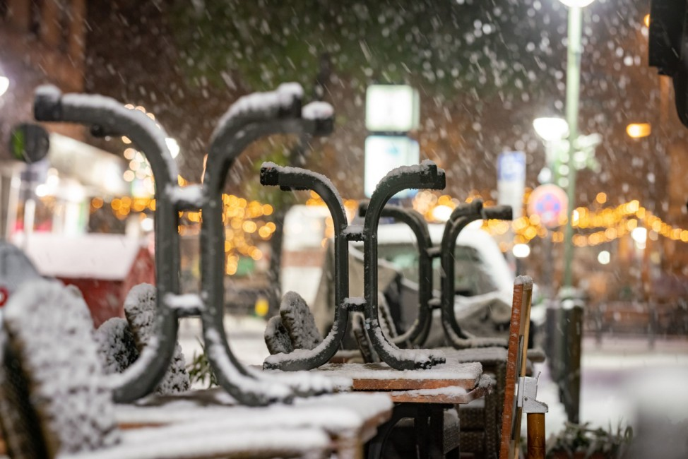 Winterwetter in Hessen