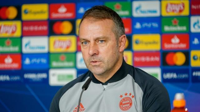 FC Bayern: Pressekonferenz mit Chefcoach Hansi Flick