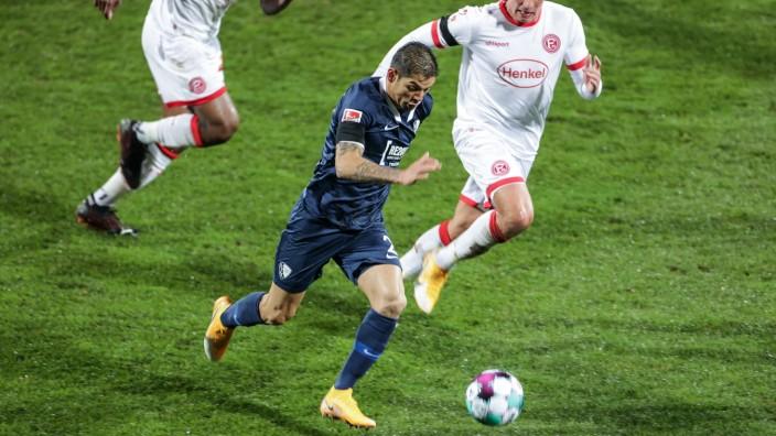 30.11.2020, Fussball, Saison 2020/2021, 2. Bundesliga, 9. Spieltag - VfL Bochum 1848 - Fortuna Düsseldorf 1895 Christian