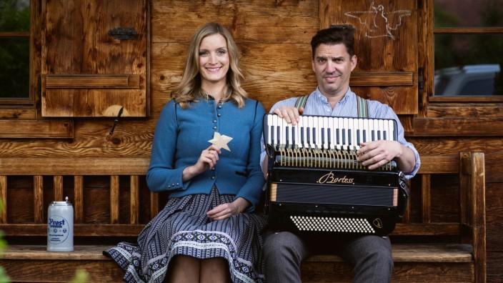 """Amelie Magdeburg und Andreas Bittl """"A Weihnachtsgschicht"""""""