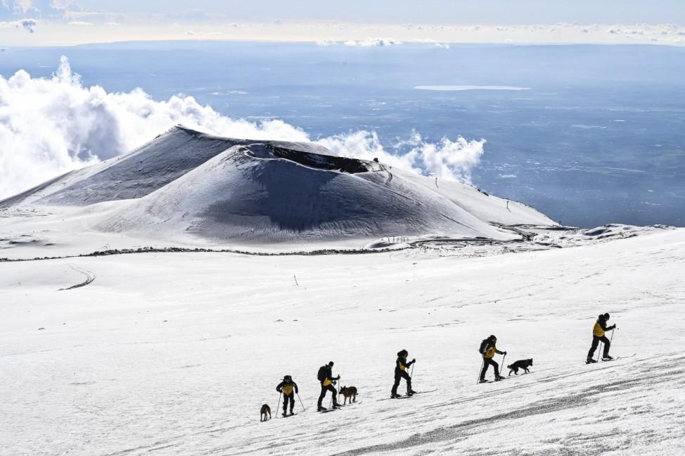BESTPIX - Mount Etna Activity In Catania