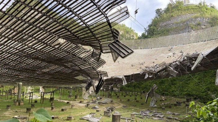 August 11, 2020: Observatorio de Arecibo PUBLICATIONxINxGERxSUIxAUTxONLY - ZUMAd69_ 20200811_zaa_d69_042 Copyright: xEl