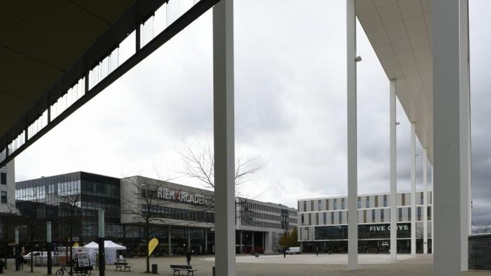 Willy-Brandt-Platz in München, 2019