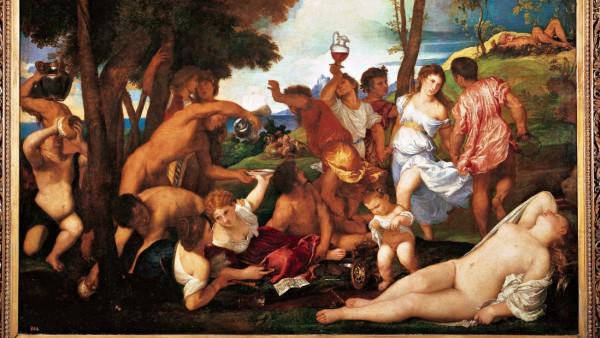 Arrivo di Bacco sull isola di Andros Baccanale degli Andrii Arrivee de Bacchus sur l ile d Andro