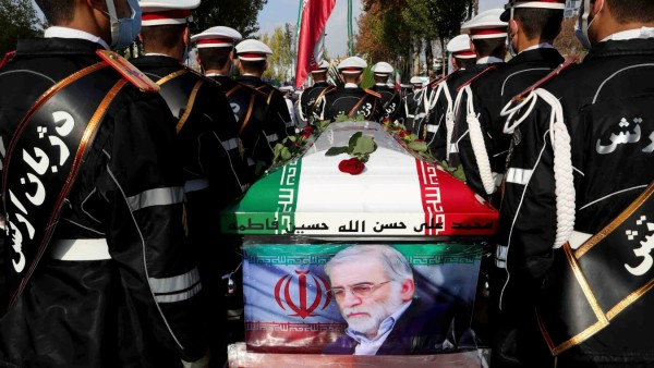 FILE PHOTO: Body of slain top Iranian nuclear scientist to be buried