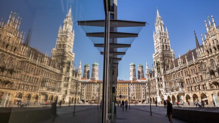 Coronavirus - München; Rathaus