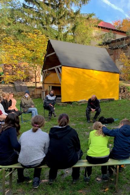 Outdoor-Unterricht in der Jugendschule Strausberg