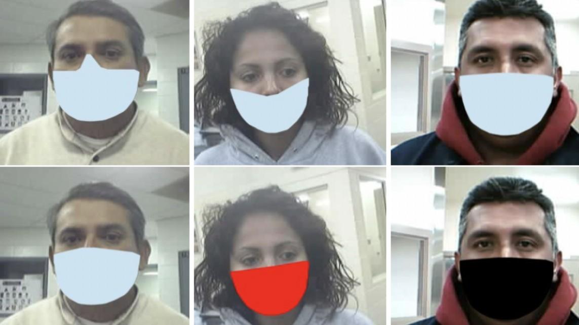 Gesichtserkennung: Die Technik lernt, mit Masken umzugehen