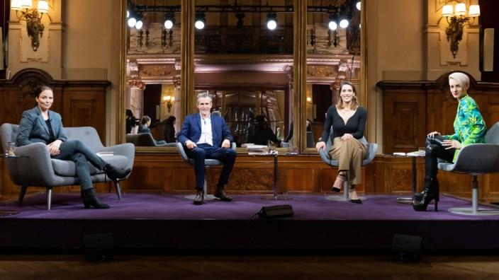 'Das Literarische Quartett'  im ZDF