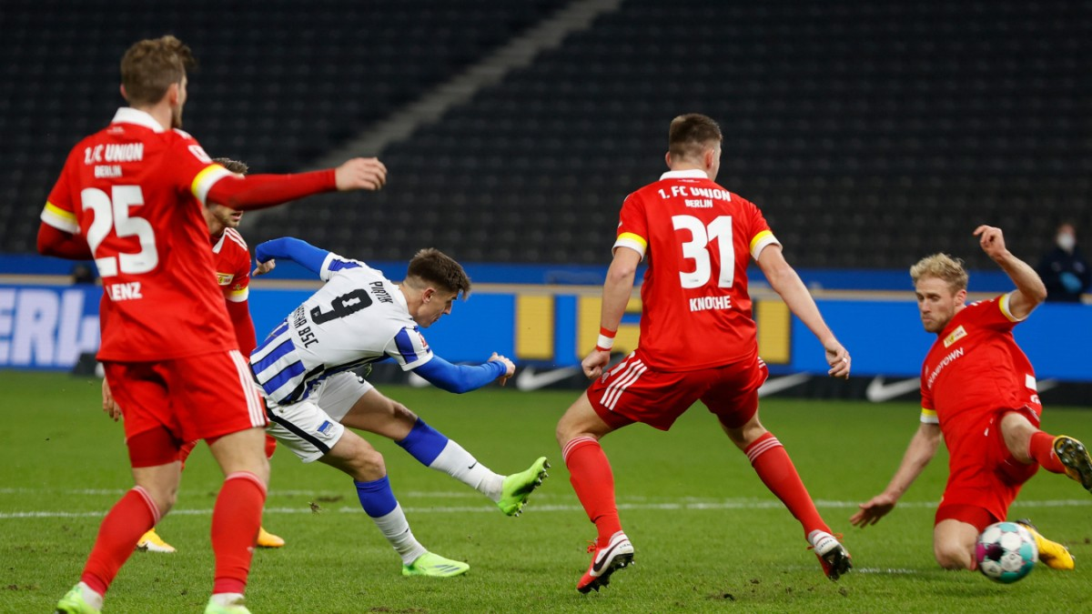 Hertha gewinnt Derby gegen Union