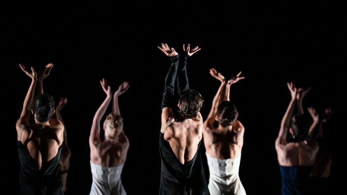 Tanzaufführungen von Hans van Manen im Wiener Staatsballett, Schläpfer